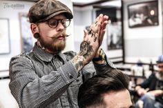 Frank Rimer - London Barber on Behance Moustache, Beard No Mustache, Barber Shop Pictures, Frank Beard, Moda Retro, Estilo Rock, Great Beards, Beard Tattoo, Men Street