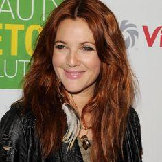 Drew Barrymore red hair
