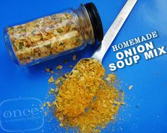 Homemade Onion Soup Mix | Freezer Cooking from Once A Month Mom
