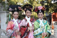 Traditional Chinese, Chinese Style, Orientation Outfit, Empresses In The Palace, Oriental Fashion, Ancient China, Qing Dynasty, Chinese Culture, Hanfu