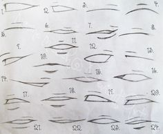 Mouth Here is a fantastic anime & manga mouths & lips drawing tutorial for all of those japanese illustration fanatics out there. Description from I searched for this on images Art Reference Poses, Design Reference, Drawing Reference, Hair Reference, Anatomy Reference, Anime Drawings Sketches, Cartoon Drawings, Lip Drawings, Drawings Of Mouths