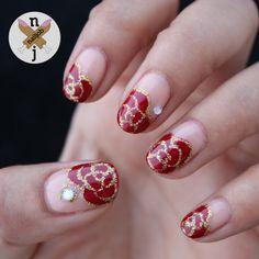 #prom nail art