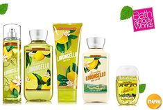 Bath  Body Works SPARKLING LIMONCELLO Deluxe Gift Set Lotion  Cream Fragrance Mist  Shower Gel  Small Sanitizing Hand Gel Lot of 5 * Want additional info? Click on the image.