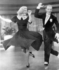 Ginger Rogers & Fred Astaire (Swing Time, 1936)