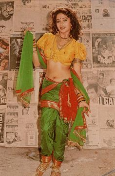 Nauvari Saree style - this sari style hails from the state of Maharashtra, India
