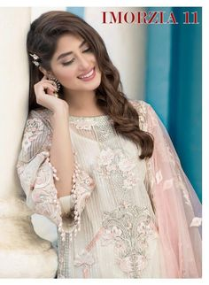 Deepsy Suits Imorzia Vol 11 Georgette and Net with Heavy Embroidery Work Pakistani Dress Material at Wholesale Rate Net Dresses Pakistani, Pakistani Wedding Outfits, Pakistani Girl, Pakistani Dress Design, Pakistani Actress, Stylish Dresses For Girls, Stylish Girl Images, Wedding Dresses For Girls, Girls Dresses
