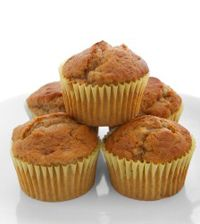 Banana Muffin Recipe - Try this low-calorie banana muffin favorite as a delicious start to the day or as a snack between meals. Low Carb Candy, Healthy Sweets, Muffin Recipes, Candy Recipes, Lchf, Keto, Low Carb Recipes, Clean Eating, Healthy Eating