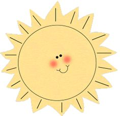 Clip Art Clip Art Sunshine sunshine clip art sun bright happy summer face border images