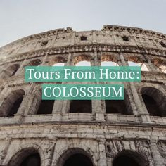 On our Tours from Home: The Secrets of the Roman Colosseum, join us on this live tour with an expert guide who will share stories of Ancient Rome's gladiatorial glory and the iconic Colosseum in the heart of Rome.
