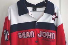 Sean John Victory Series 1969 Collection Black Short Sleeve Jersey XL #SeanJohn #Jerseys