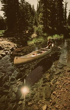 Camping + Canoes! Go on an adventure! #outdoors #camping #canoe