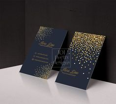 Gold glitter business card template gold by 101prettydesigns