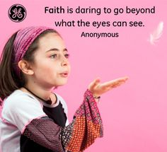 Beyond what the eyes can see #Quotes #GEHealthcare