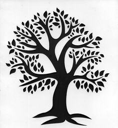 6 x 6 Manilla Tree Stencil Template Sheet For arts and by sasta10, £2.99