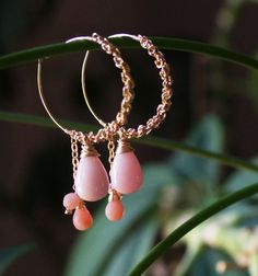 Debbie's beautiful jewelry is found in her Etsy shop: http://www.etsy.com/listing/79858538/pink-opal-briolette14kt-gold-fill