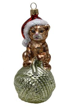 Old World Christmas Ornaments, Christmas Cats, Christmas Time, Christmas Ideas, Merry Christmas, Xmas, Cat Lover Gifts, Cat Gifts, Beautiful Christmas Decorations