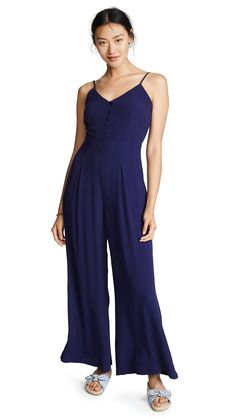 f9ce38df0213 Yumi Kim Womens Brooklyn Nights Jumpsuit Navy Small     To check out better  for