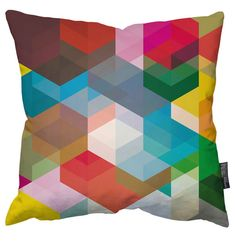 Geometric Cushion by Simon C Page