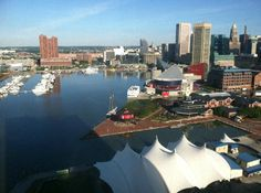 Baltimore, Maryland Waterfront - great area to visit