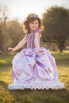 Sofia the First Princess Gown Costume