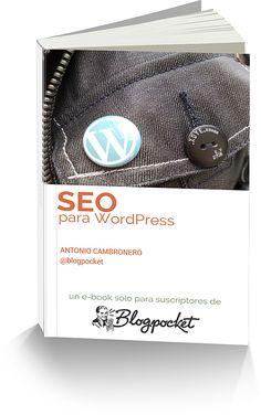Portada del ebook SEO para WordPress
