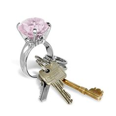 Buy Diamond Key Ring today at IWOOT. Some Times, Key Rings, Cufflinks, Gems, Bling, Personalized Items, Diamond, Top Price, Stuff To Buy