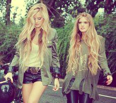HAIR! HAIR! HAIR! Love both of their long hair!!