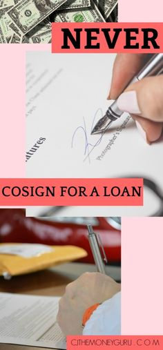 50 Best Cosigner Tips images in 2019 | Tips, Best payday