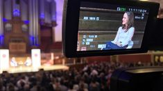 WaveFX a video and webcasting production company filmed and streamed Natalie Portman in conversation with author Yuval Noah Harari via a cinema webcast Natalie Portman, This Is Us, Interview, Cinema, Author, Facebook, Film, Youtube, Movie