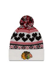 New Era Chicago Blackhawks White Winter Cutie Knit Hat
