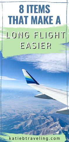 Packing list and must pack items for your next long flight to make economy more comfortable! #travel #airplanes #airlines #flights #traveltips Packing List For Travel, Travelling Tips, Packing Lists, Travel Advice, Travel Hacks, Travel Guides, Travel Items, Travel Products, Fly To Hawaii