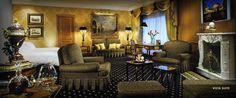 Central Suite, Rome Cavalieri Hotel Hotel Interior Design