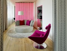 Rich and dynamic interior design