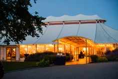 The Castle Hill Wedding Tent