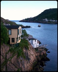 The Narrows, St. John's, Newfoundland - Canada, best place to eat fresh fish Newfoundland Canada, Newfoundland And Labrador, O Canada, Canada Travel, Ottawa, Places To Travel, Places To Visit, Villas, Voyager Loin