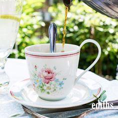 Zum Frühstück gehört natürlich auch eine frisch gebrühte Tasse Kaffee.