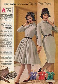 We look fabulous! Let hold hands... by Touch of Retro,  the Montgomery Ward 1961 Fall/Winter Catalog