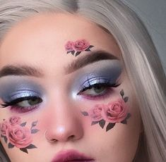 aesthetic makeup glam Image uploaded by suga_dumplin. Find images and videos about pink, makeup and rose on We Heart It - the app to get lost in what you love. Makeup Eye Looks, Eye Makeup Art, Pink Makeup, Crazy Makeup, Eyeshadow Makeup, Makeup Drawing, Pastel Makeup, Creative Makeup Looks, Unique Makeup