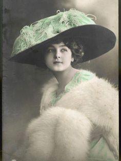 d005f6bc2367b 39 Best edwardian hat images in 2016 | 1900s fashion, Edwardian ...