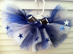 Dallas Cowboy Tutu Version 2 by Tuturificdesign on Etsy, $35.00