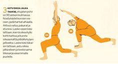 Tee tämä liikesarja joka päivä. Vase, Pilates, Feel Good, Just For You, Health Fitness, Positivity, Wellness, Exercise, Yoga