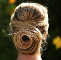 Modern Day Behive Updo.