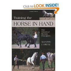 Training the Horse in Hand: The Classical Iberian Principles Horse Books, Horse Training, Dressage, Reading Lists, Equestrian, Pony, Hands, Horses, Girly