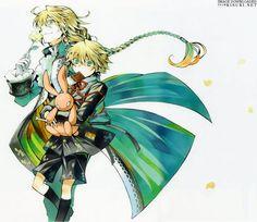 Pandora Hearts Jack and Oz