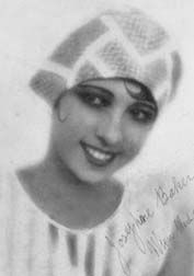 "Josephine Baker. Born in 1906, 'Freda McDonald' was one of the first and most versatile black entertainers of the '20s and '30s. A French Resistance activist, she was buried with full military honors by the French Army. She endured 5 husbands and adopted 12 children -  her ""Rainbow Tribe"" from around the world (waaay ahead of Angelina and Madonna)."