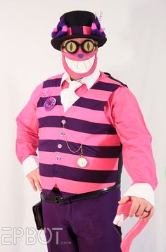 cheshire cat costume for men - Google Search