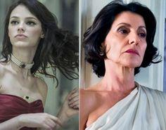 Saiba quais são as cores de batom das personagens Gilda e Betina na novela O Rebu.