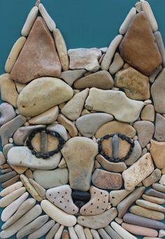 Doğal Taşları Döşereyerek Hayvan Figürleri Yapmak (10) - Doğal taşlar, doğal taş evler ve doğal taş ocakları