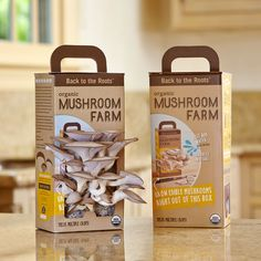 Grow your own mushroom farm.