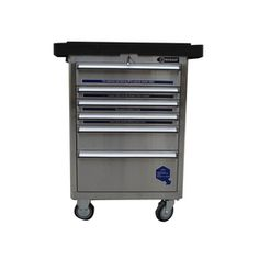 Kobalt 40-in X 27-in 6-drawer Ball-bearing Stainless Steel Tool Cabinet Rc27ss11